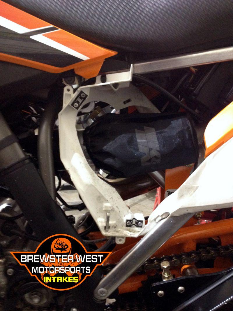 Snow Plow Air Intake : Brewster west intake kits
